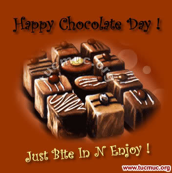 Happy Chocolate Day Cards